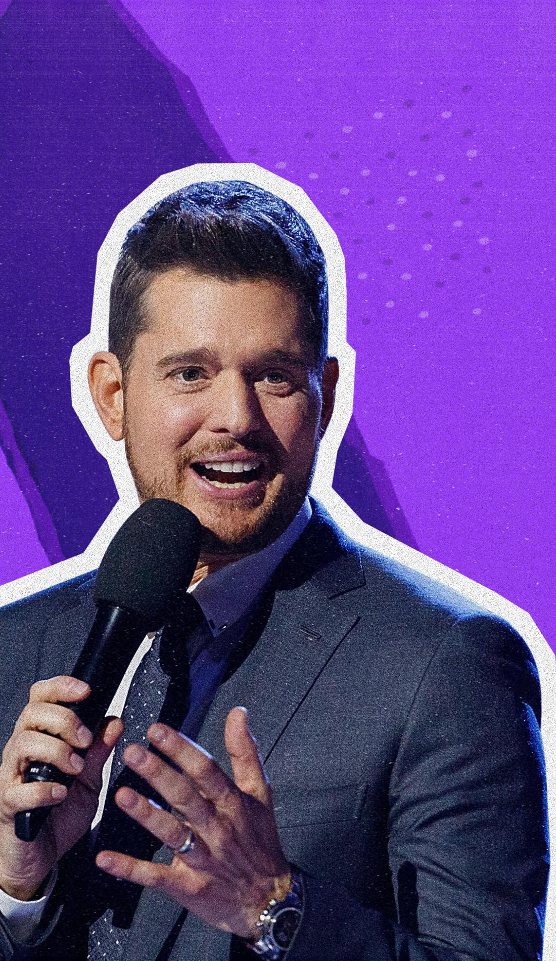 A Michael Buble live event