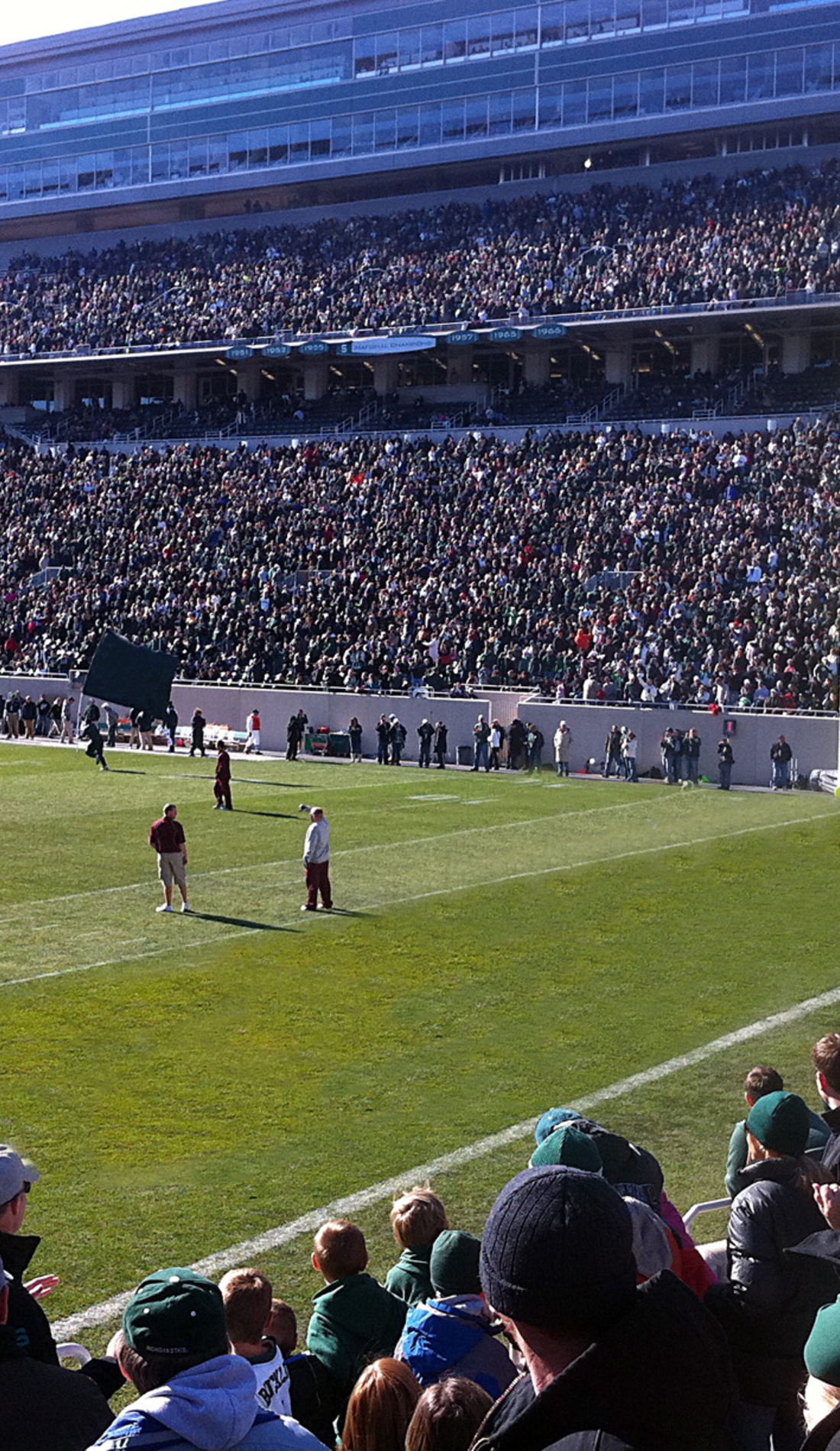 A Michigan State Spartans Football live event