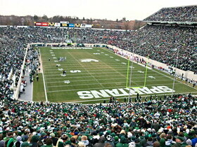 Central Michigan Chippewas at Michigan State Spartans Football