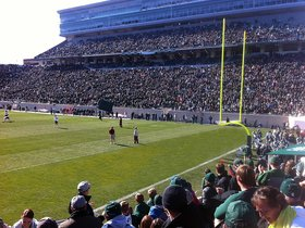 Northwestern Wildcats at Michigan State Spartans Football