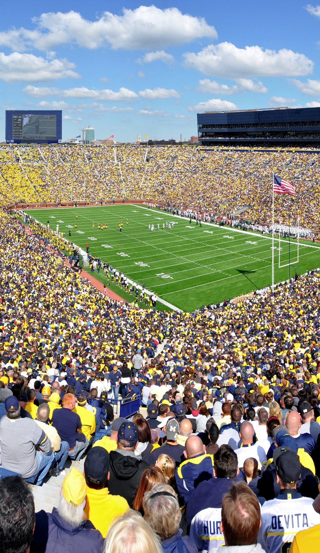 A Michigan Wolverines Football live event