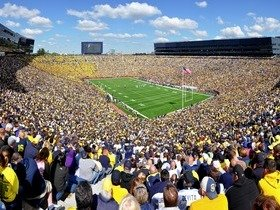 Penn State Nittany Lions at Michigan Wolverines Football