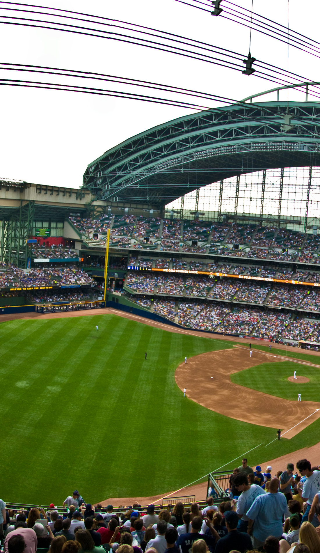 A Milwaukee Brewers live event