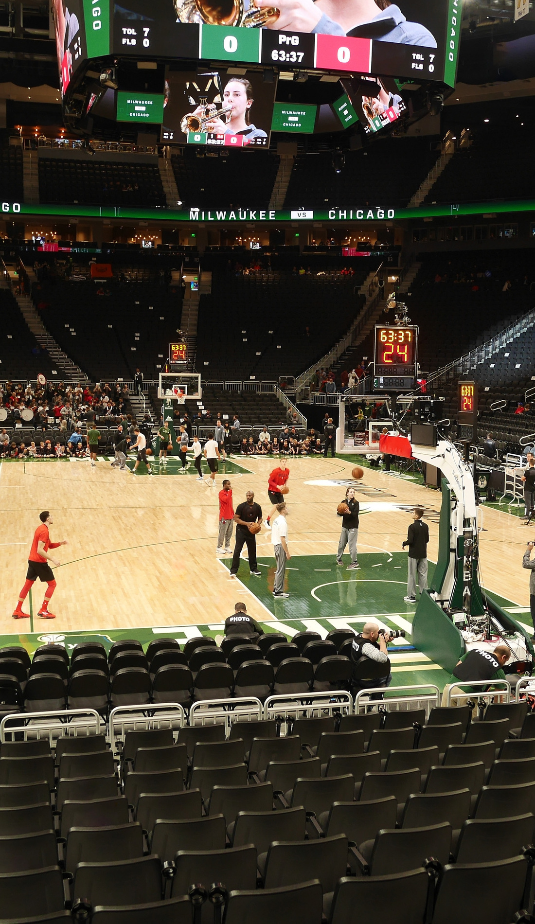 A Milwaukee Bucks live event