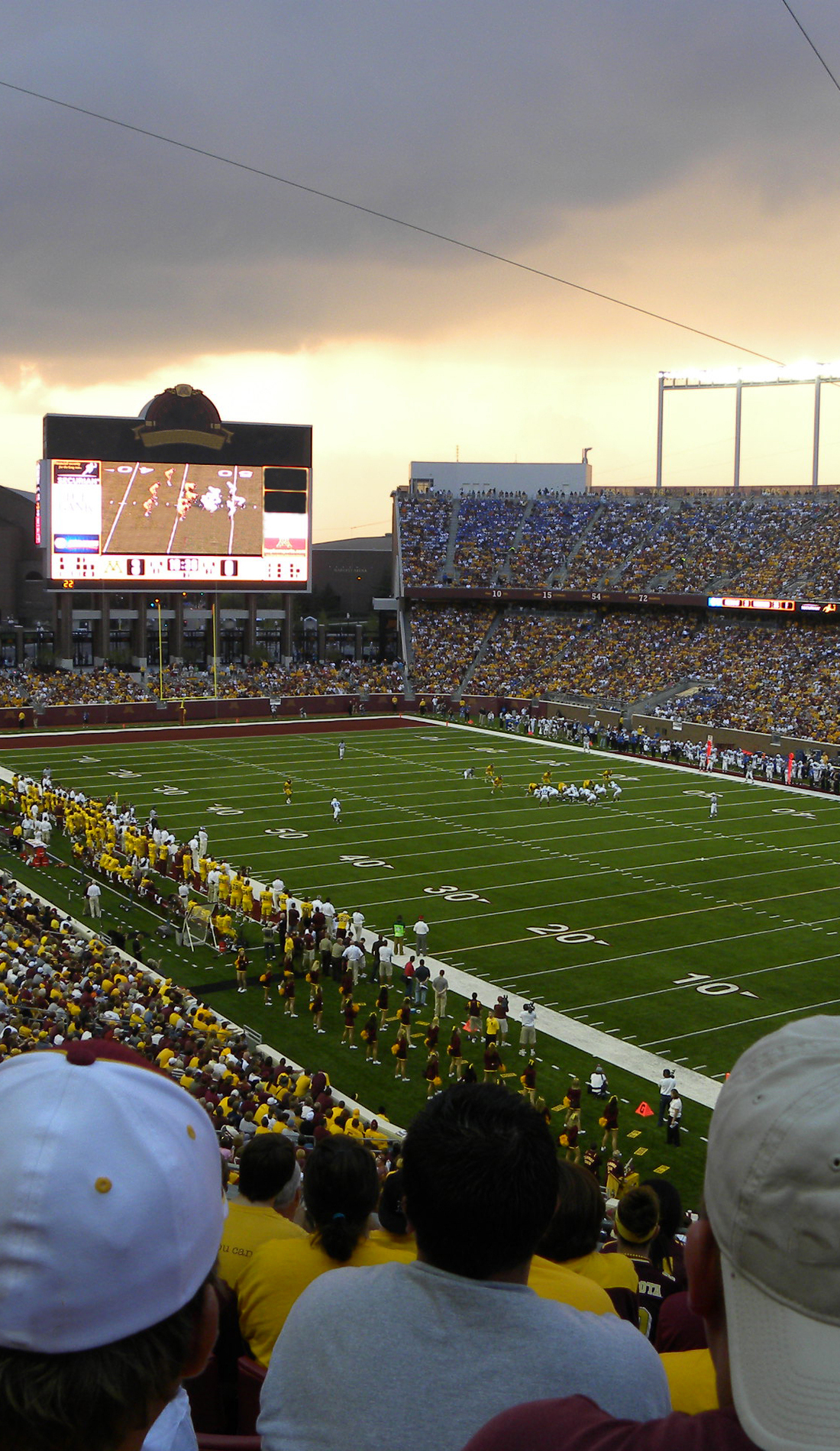 A Minnesota Golden Gophers Football live event