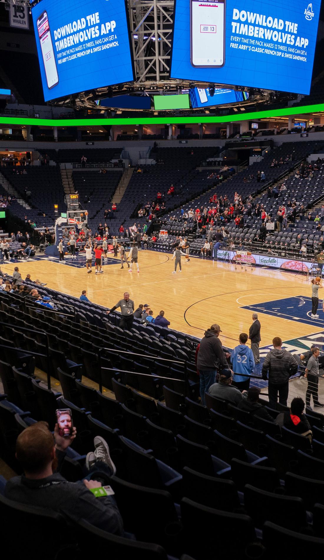 A Minnesota Timberwolves live event