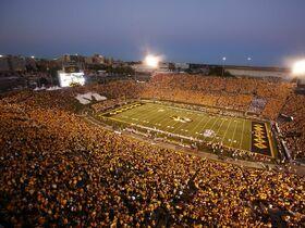 Missouri Tigers at Vanderbilt Commodores Football