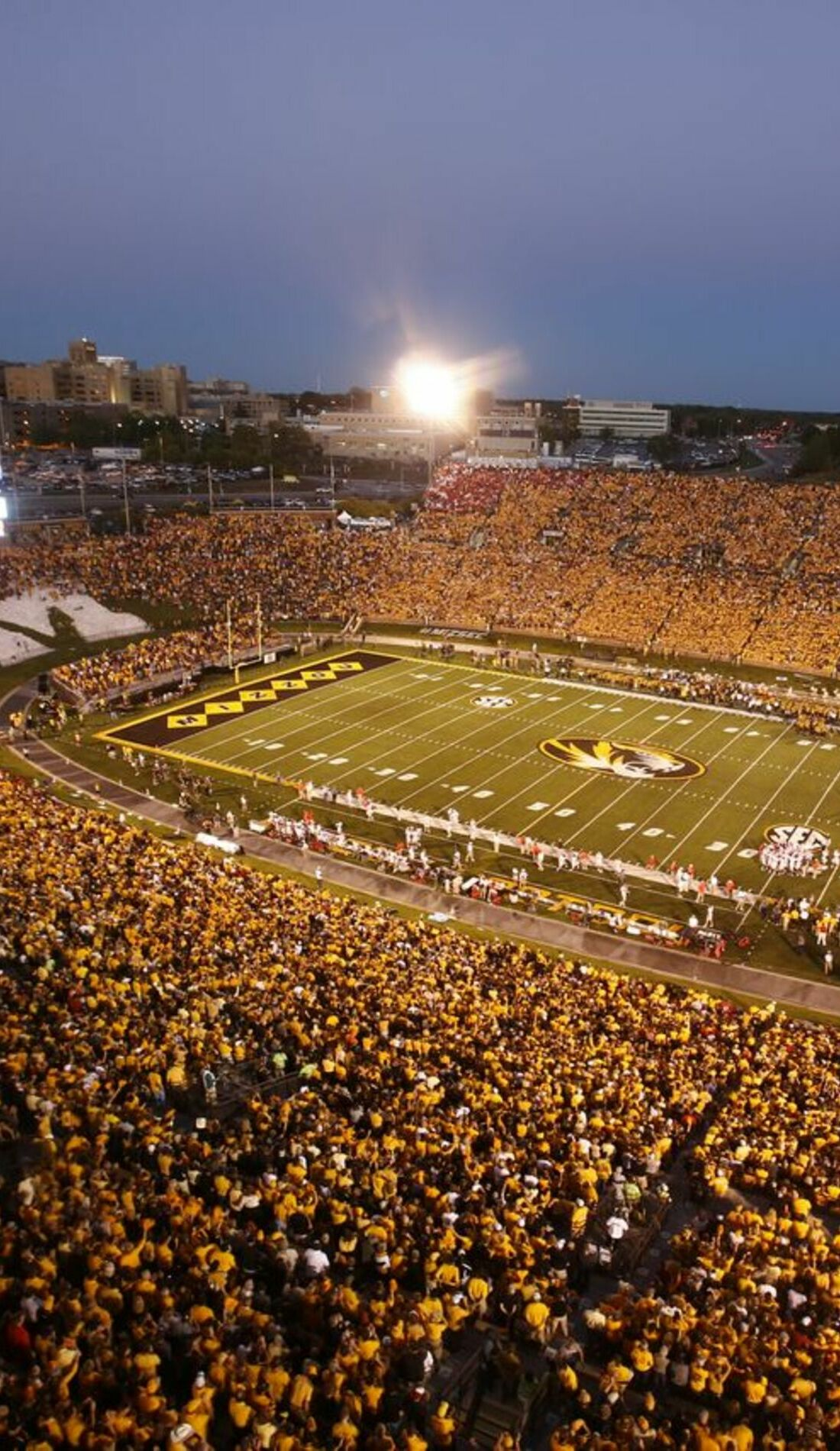 A Missouri Tigers Football live event