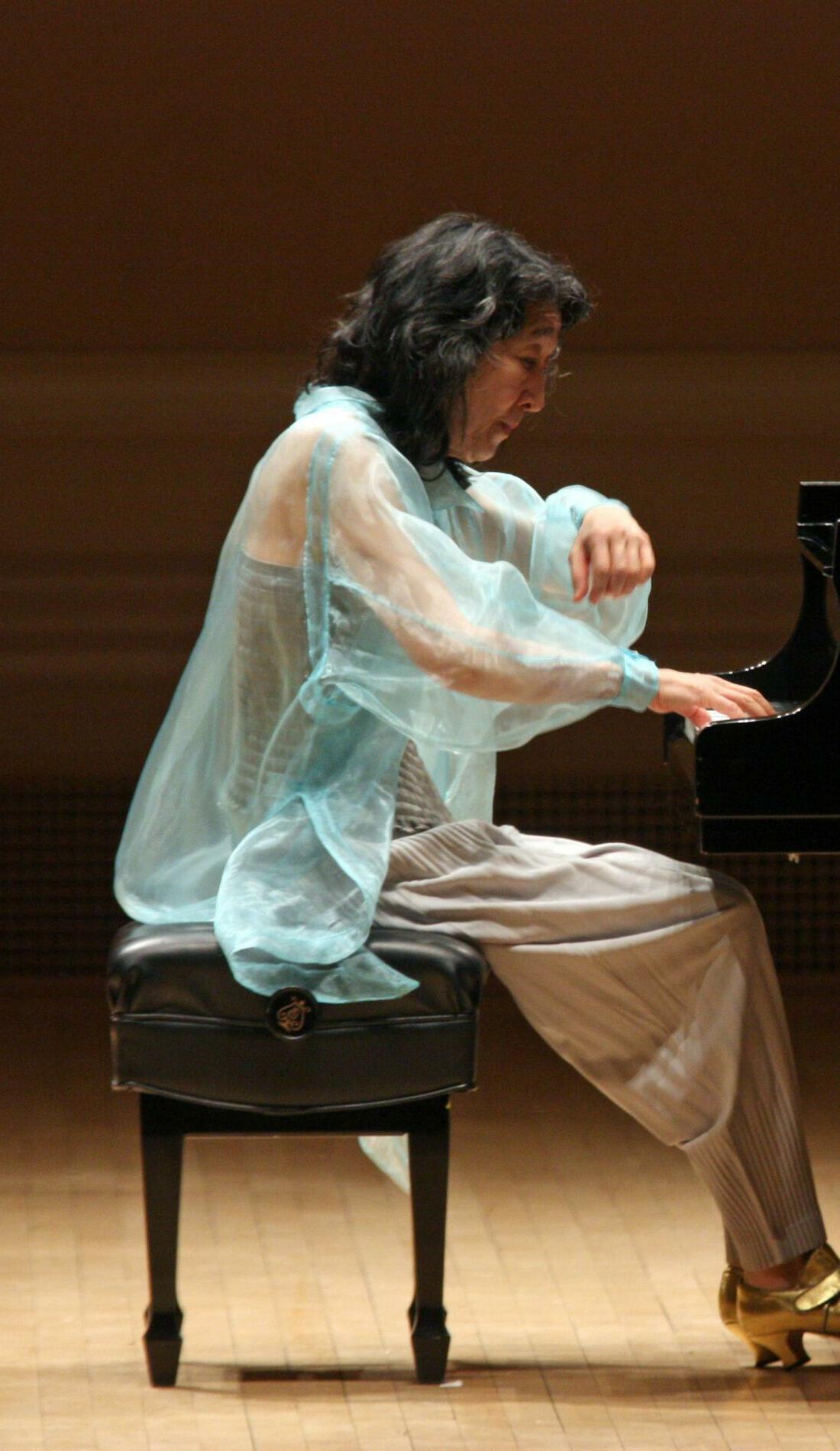 A Mitsuko Uchida live event