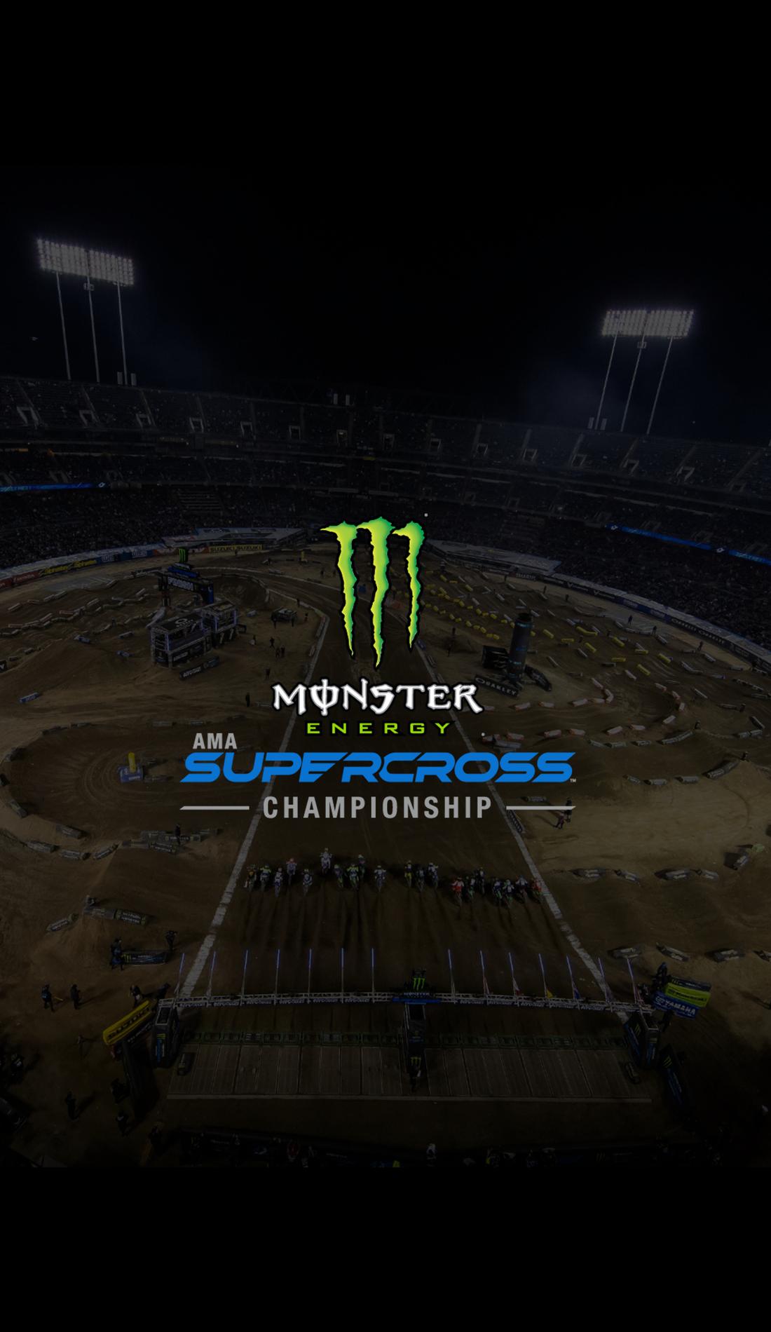 A Monster Energy AMA Supercross live event