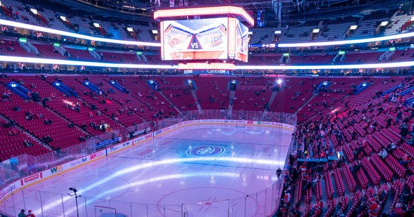 Detroit Red Wings at Montreal Canadiens