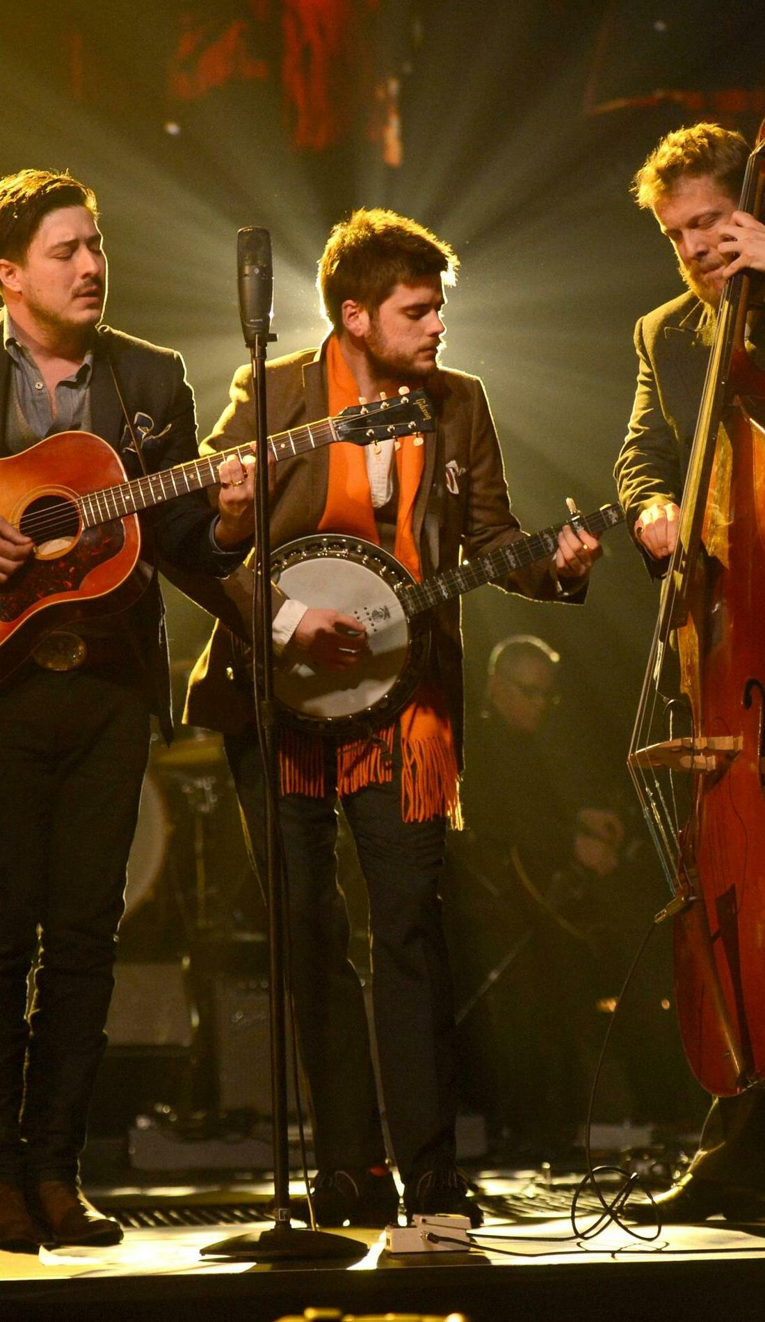 A Mumford & Sons live event