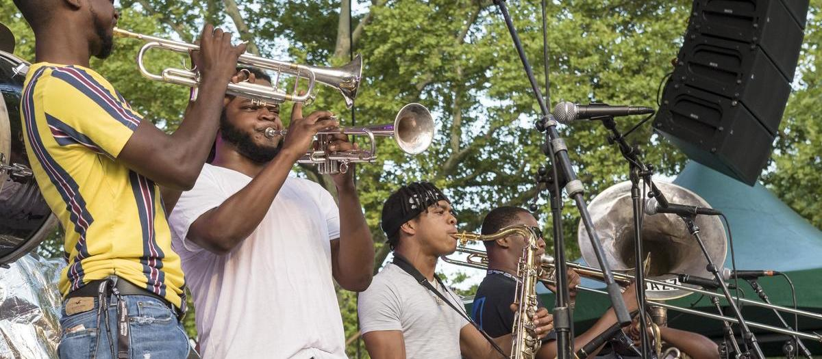 New Breed Brass Band Tickets