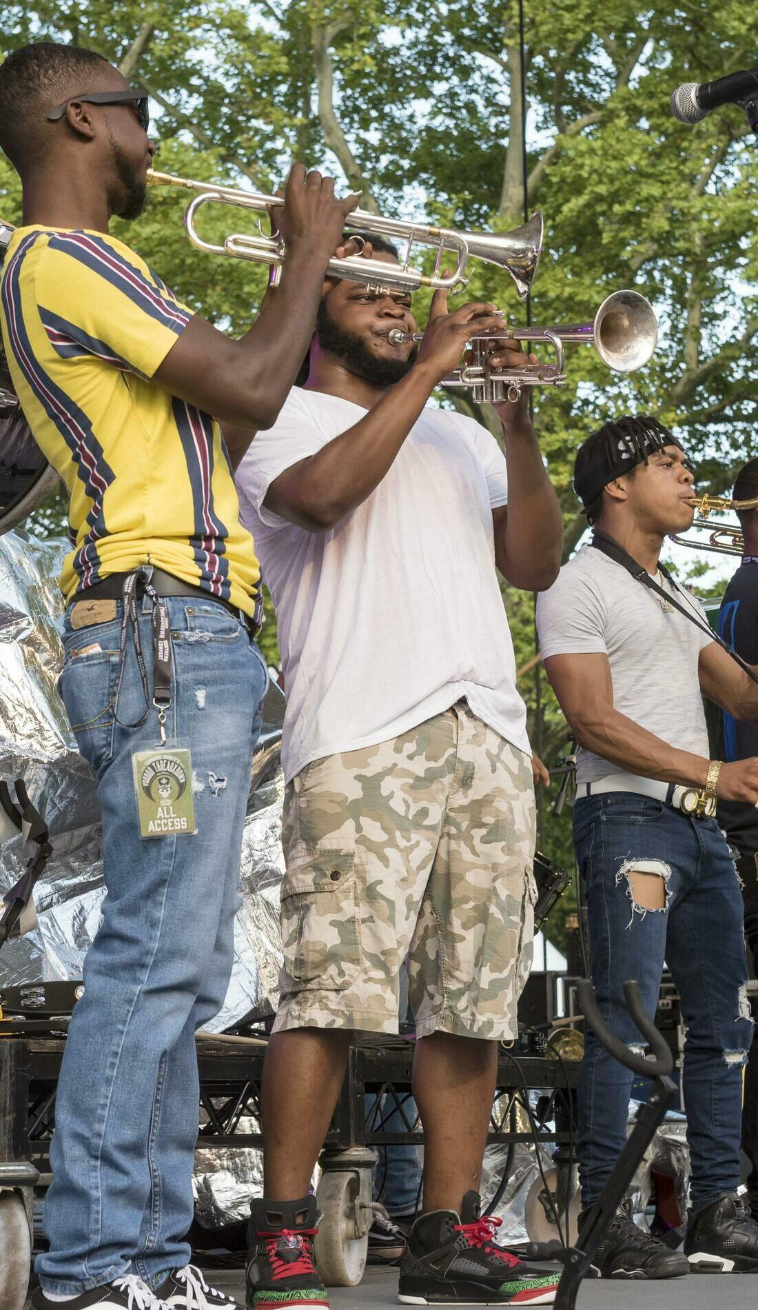 A New Breed Brass Band live event