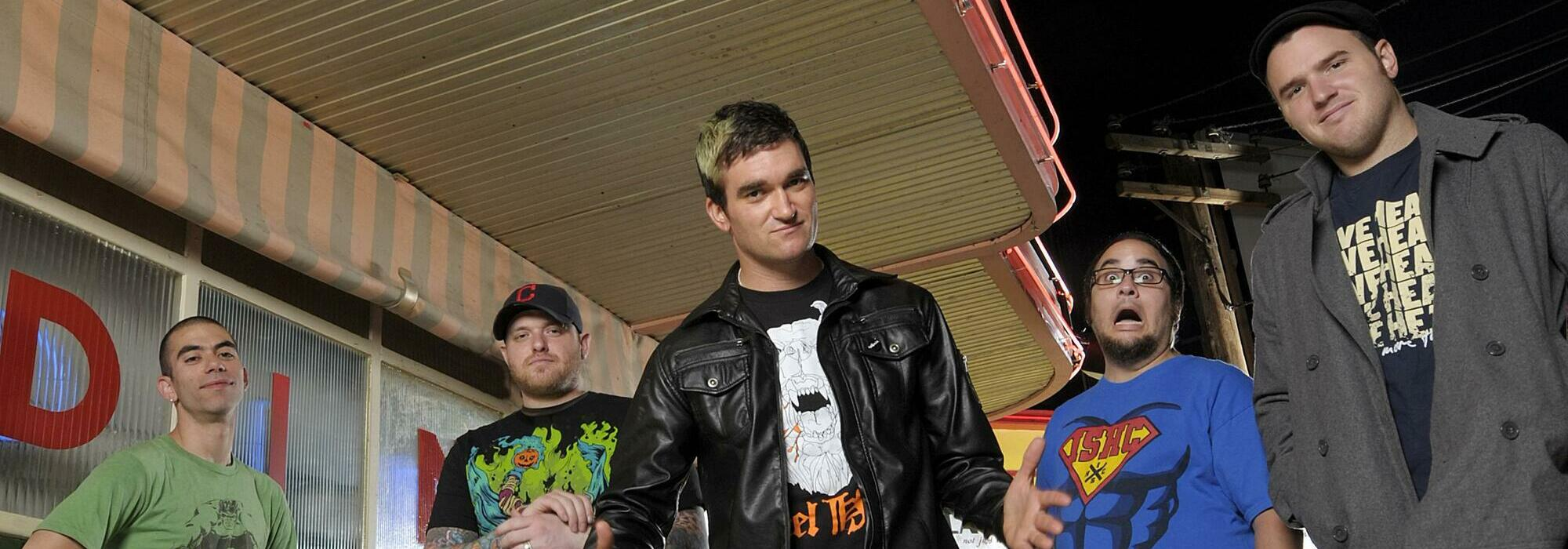 A New Found Glory live event