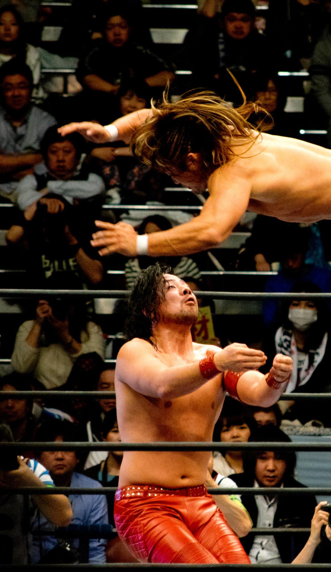 A New Japan Pro Wrestling live event