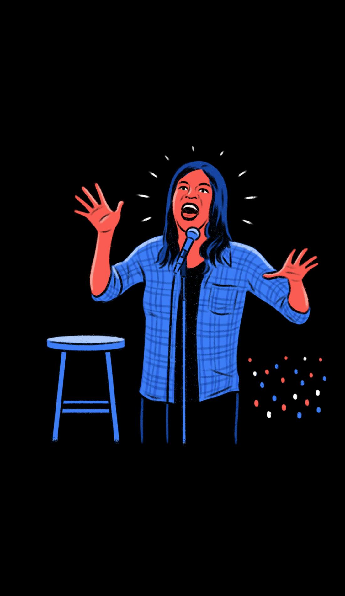 A New York Comedy Festival live event