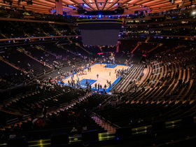 Golden State Warriors at New York Knicks