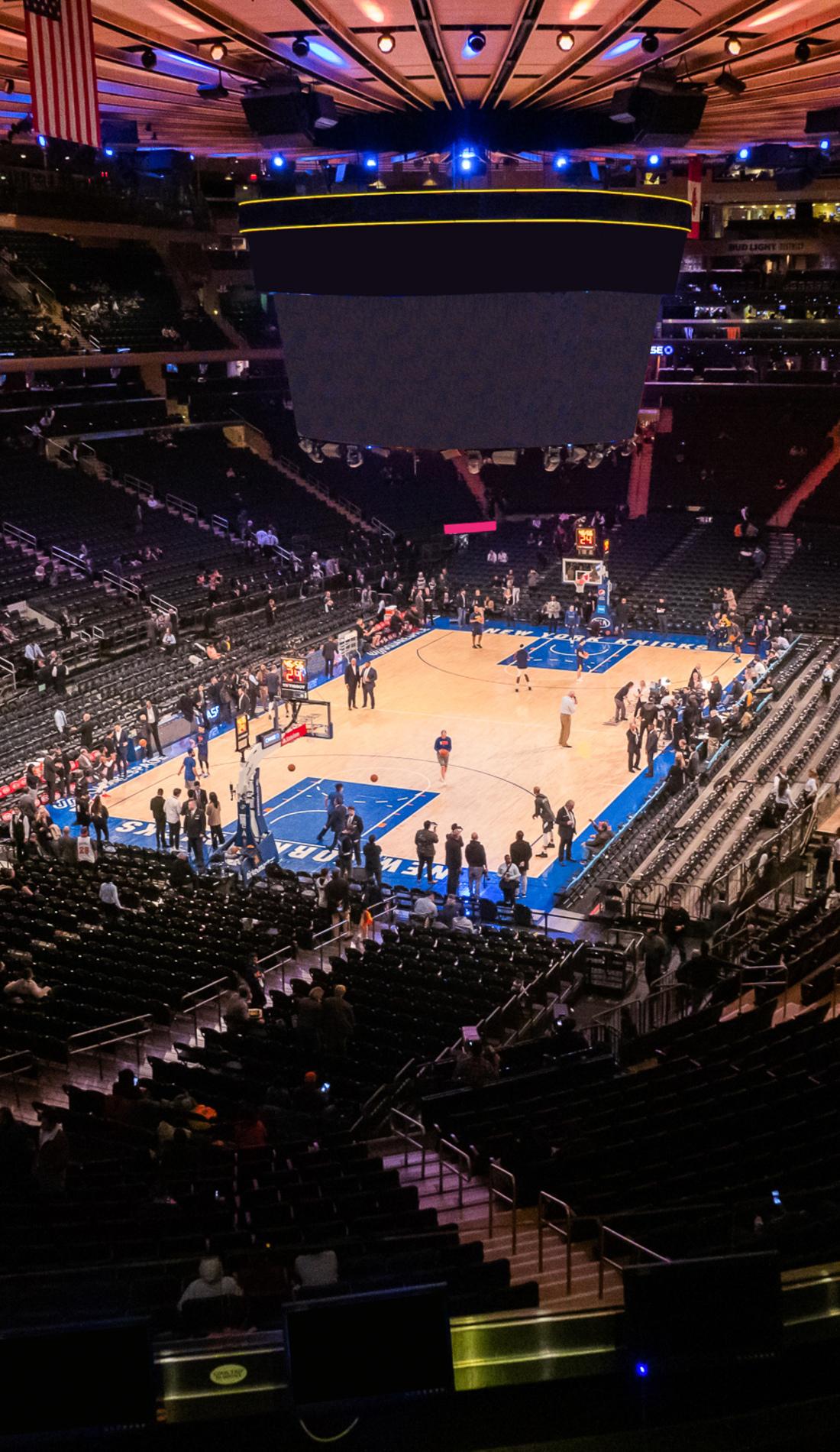 A New York Knicks live event