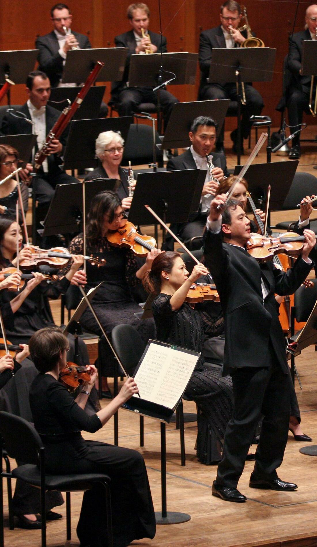 A New York Philharmonic live event