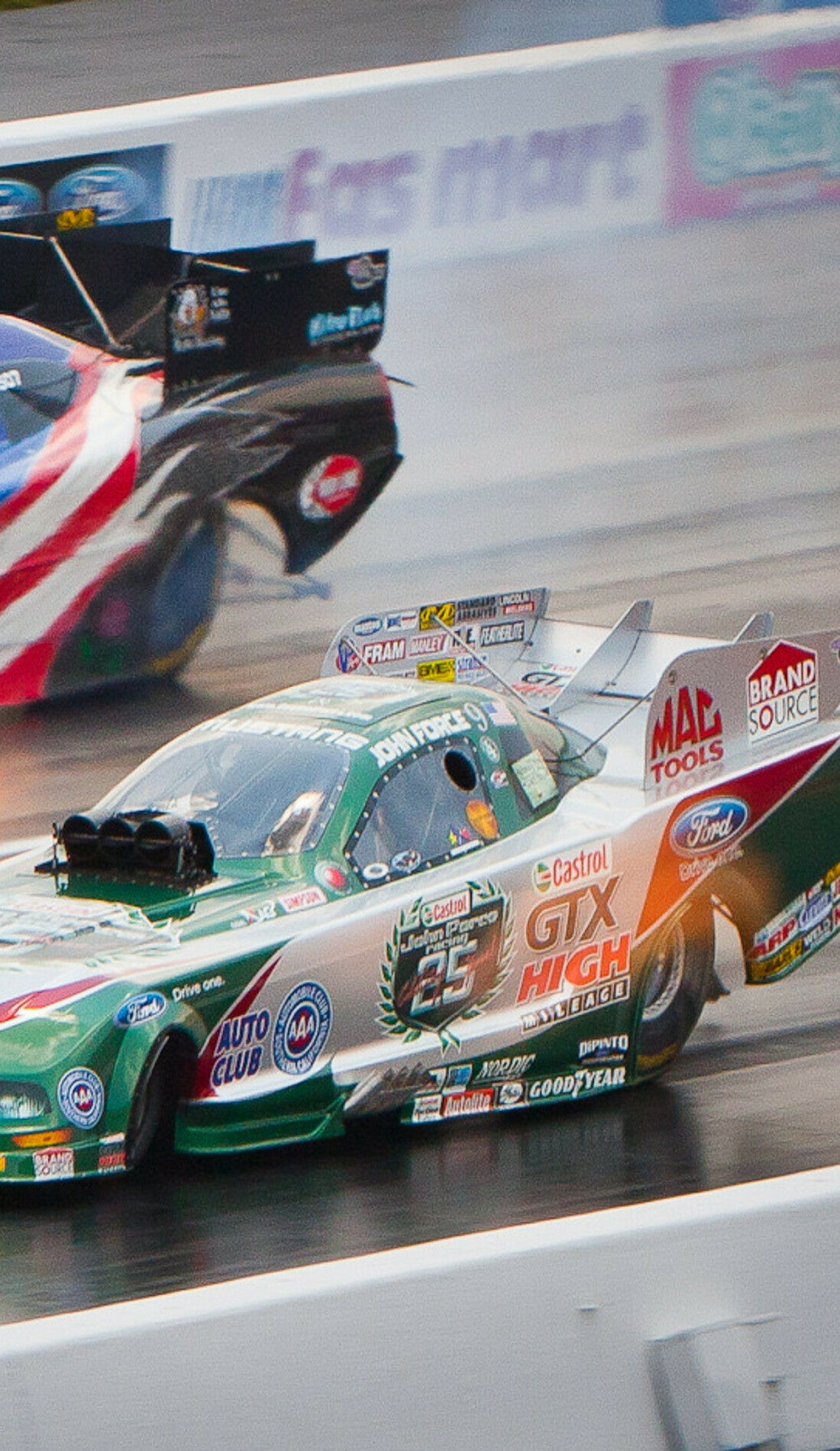 A NHRA Thunder Valley Nationals live event