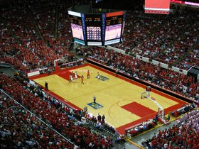 North Carolina Tar Heels at North Carolina State Wolfpack Basketball