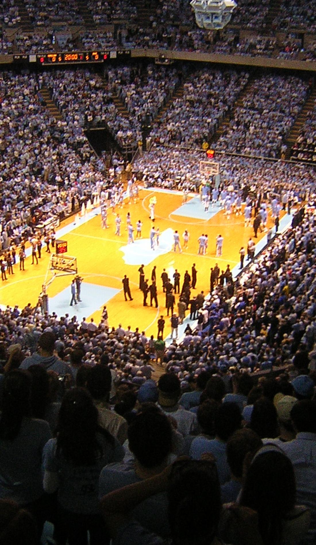 A North Carolina Tar Heels Basketball live event