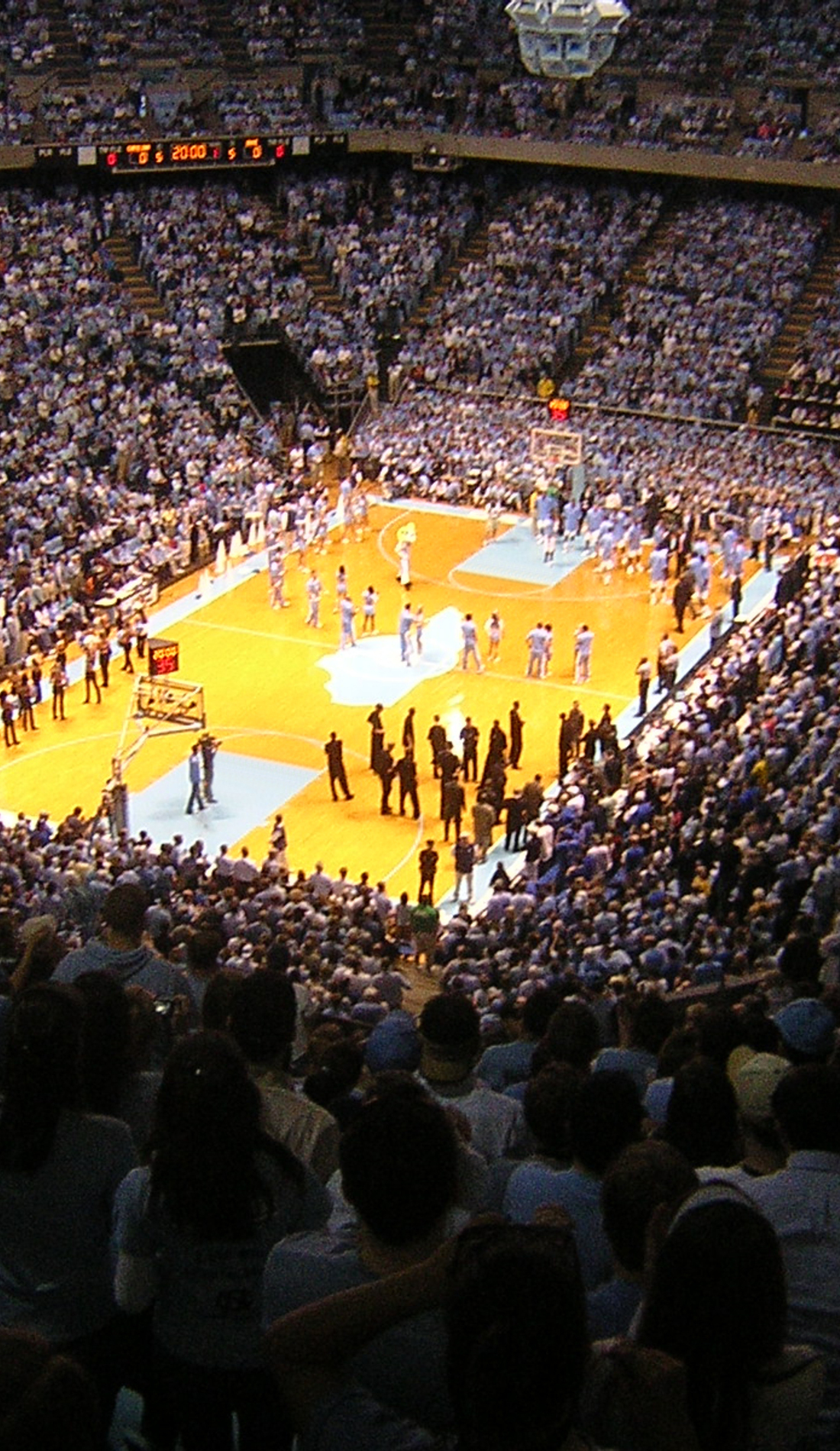 A North Carolina Tar Heels Basketball live event