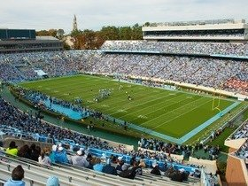 North Carolina Tar Heels at Virginia Tech Hokies Football