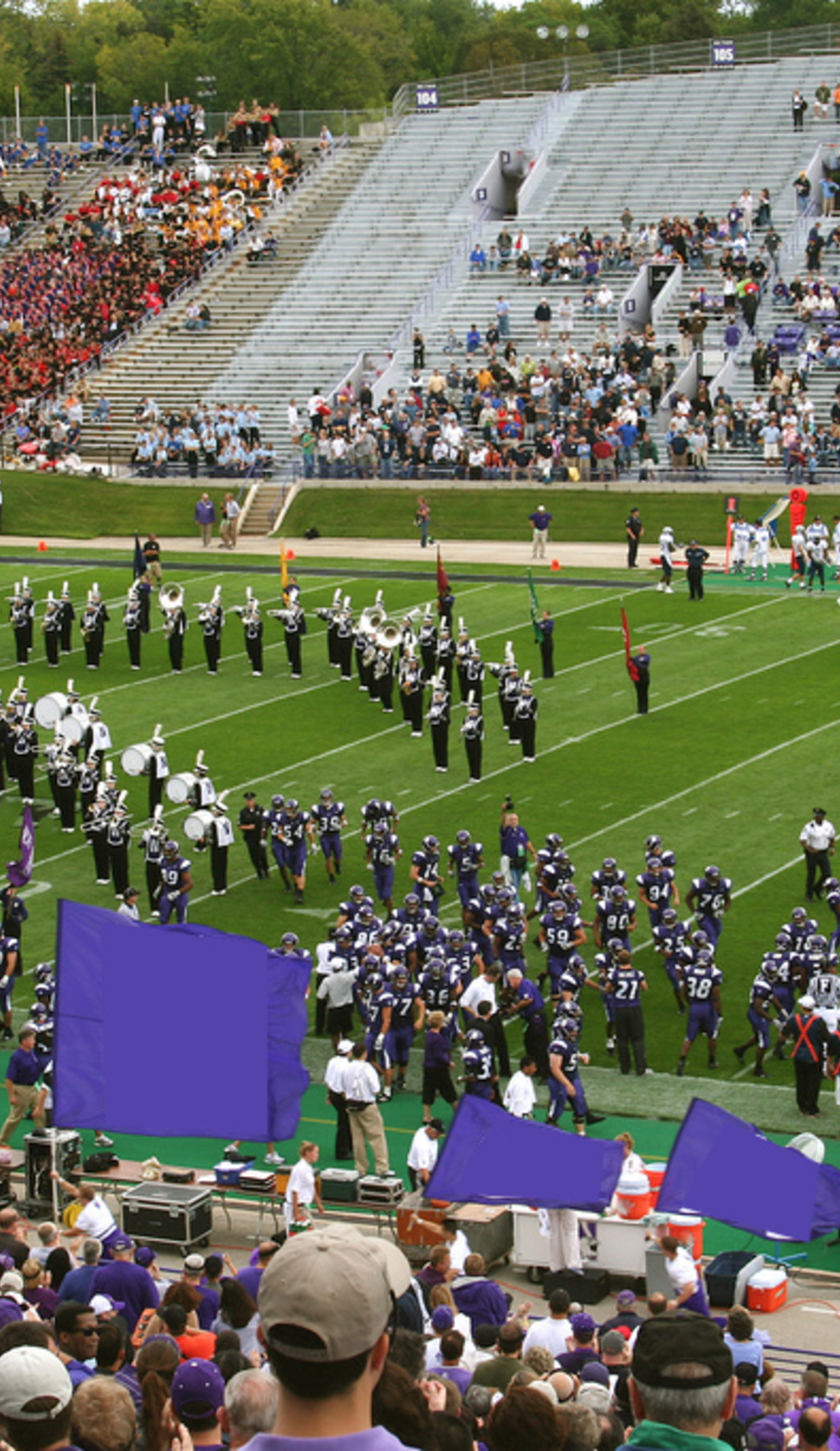 A Northwestern Wildcats Football live event