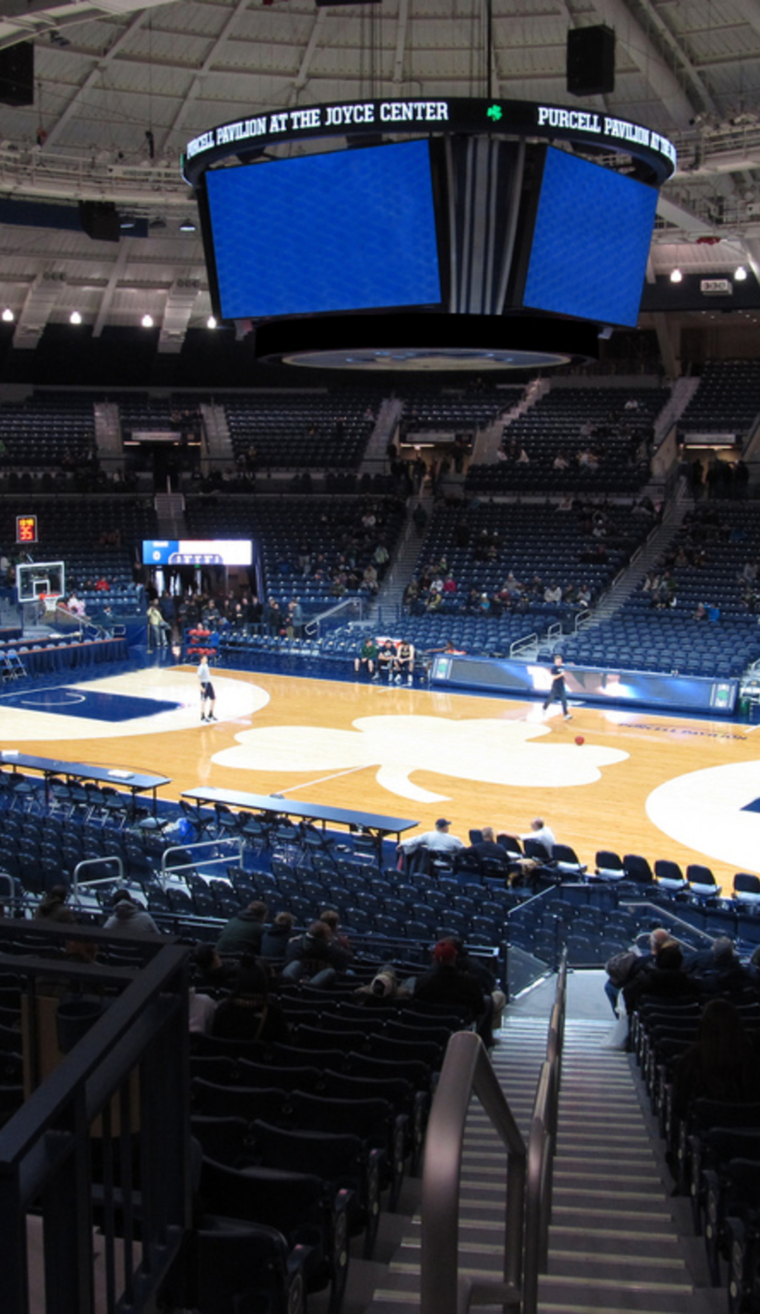 A Notre Dame Fighting Irish Basketball live event