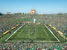 Notre Dame Fighting Irish at Michigan Wolverines Football