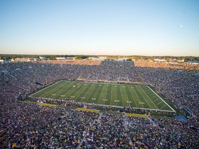USC Trojans at Notre Dame Fighting Irish Football