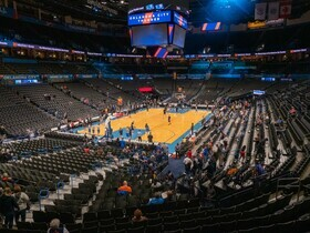 Oklahoma City Thunder at Houston Rockets