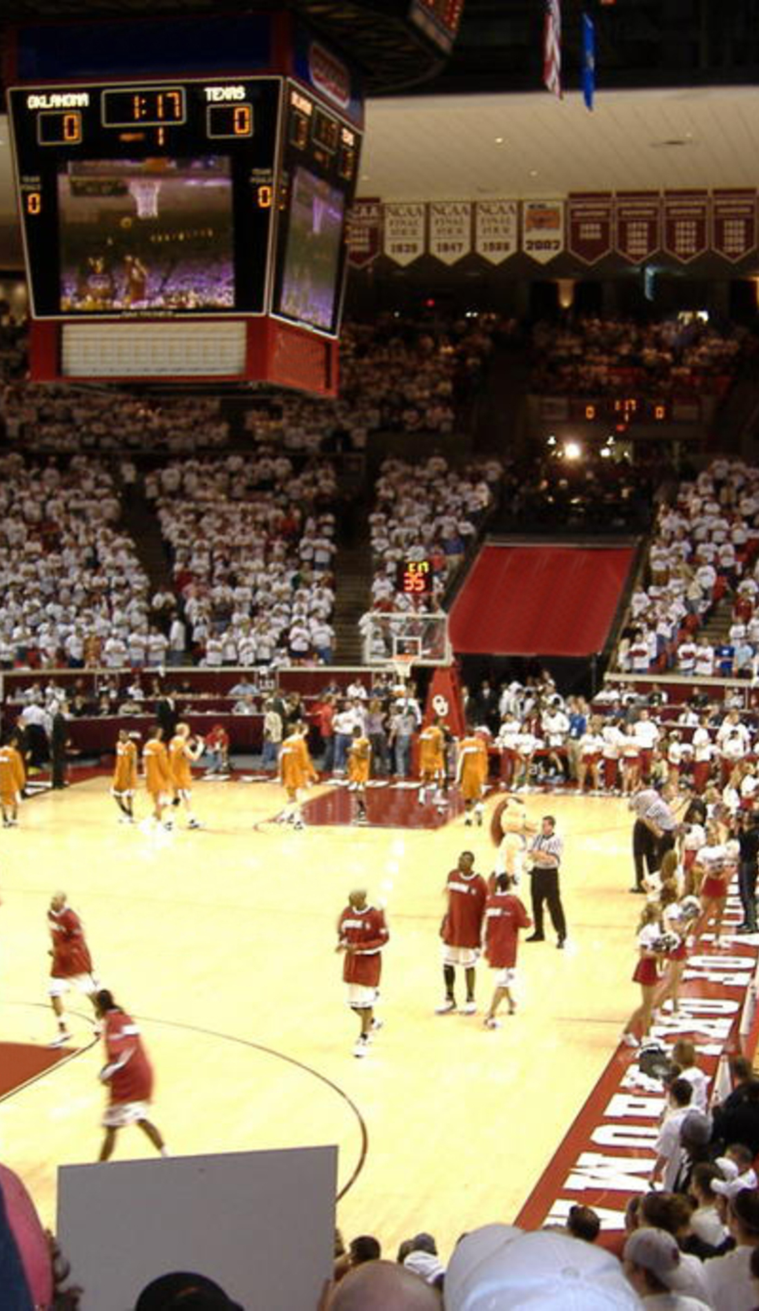 A Oklahoma Sooners Basketball live event
