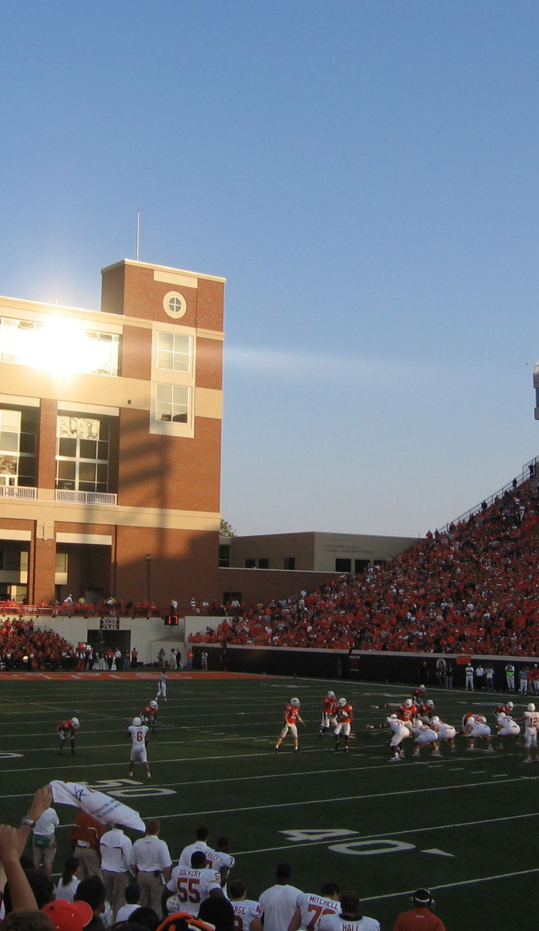A Oklahoma State Cowboys Football live event