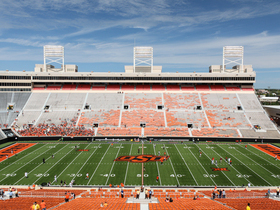 Oklahoma State Cowboys at TCU Horned Frogs Football