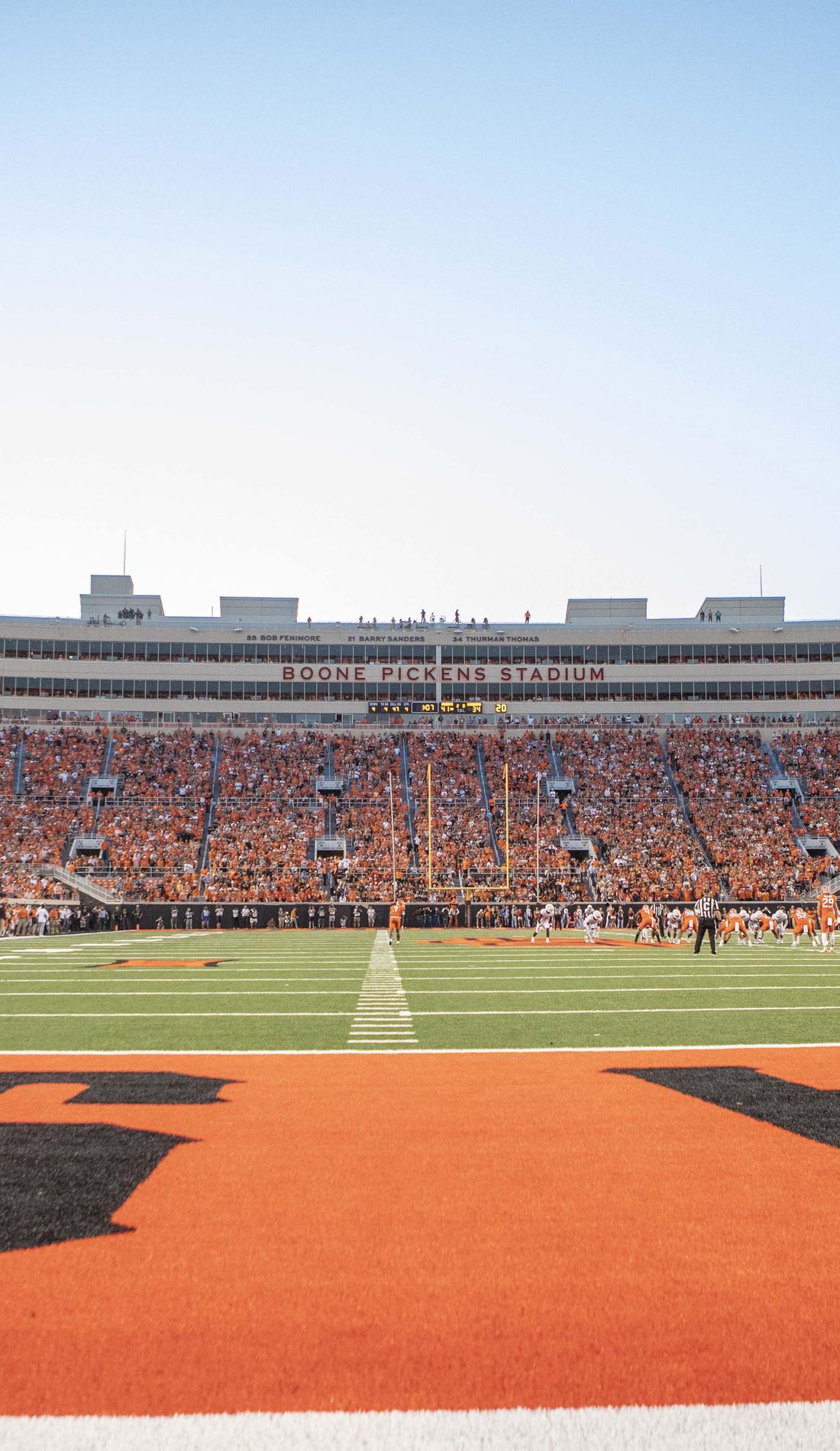 A Oklahoma State Cowboys Football live event