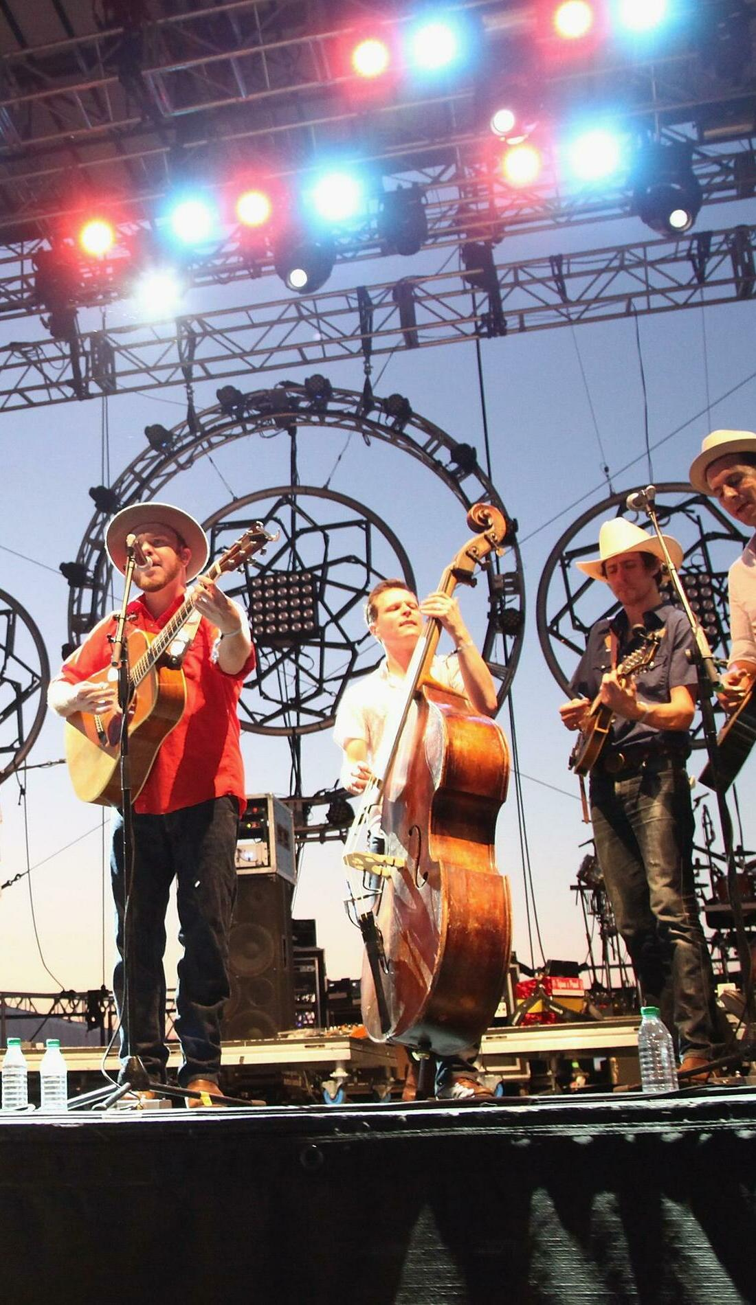 A Old Crow Medicine Show live event