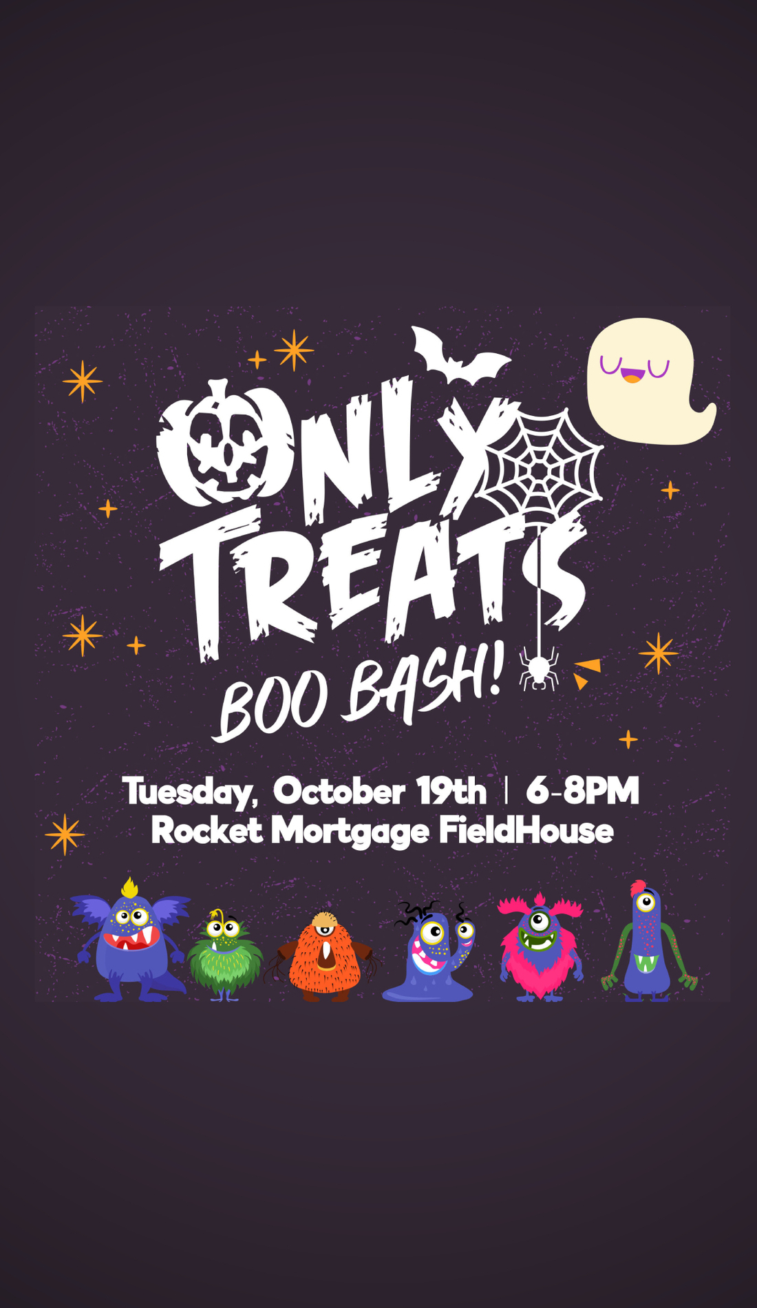 A Only Treats Boo Bash live event