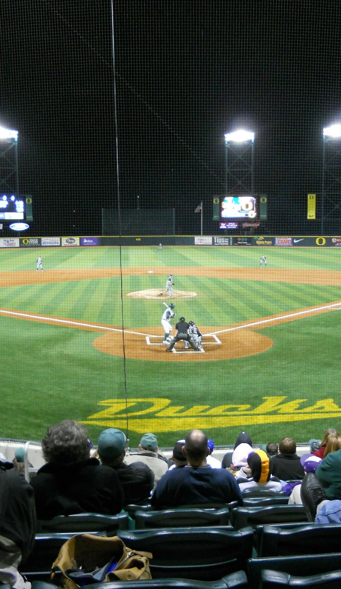 A Oregon Ducks Baseball live event