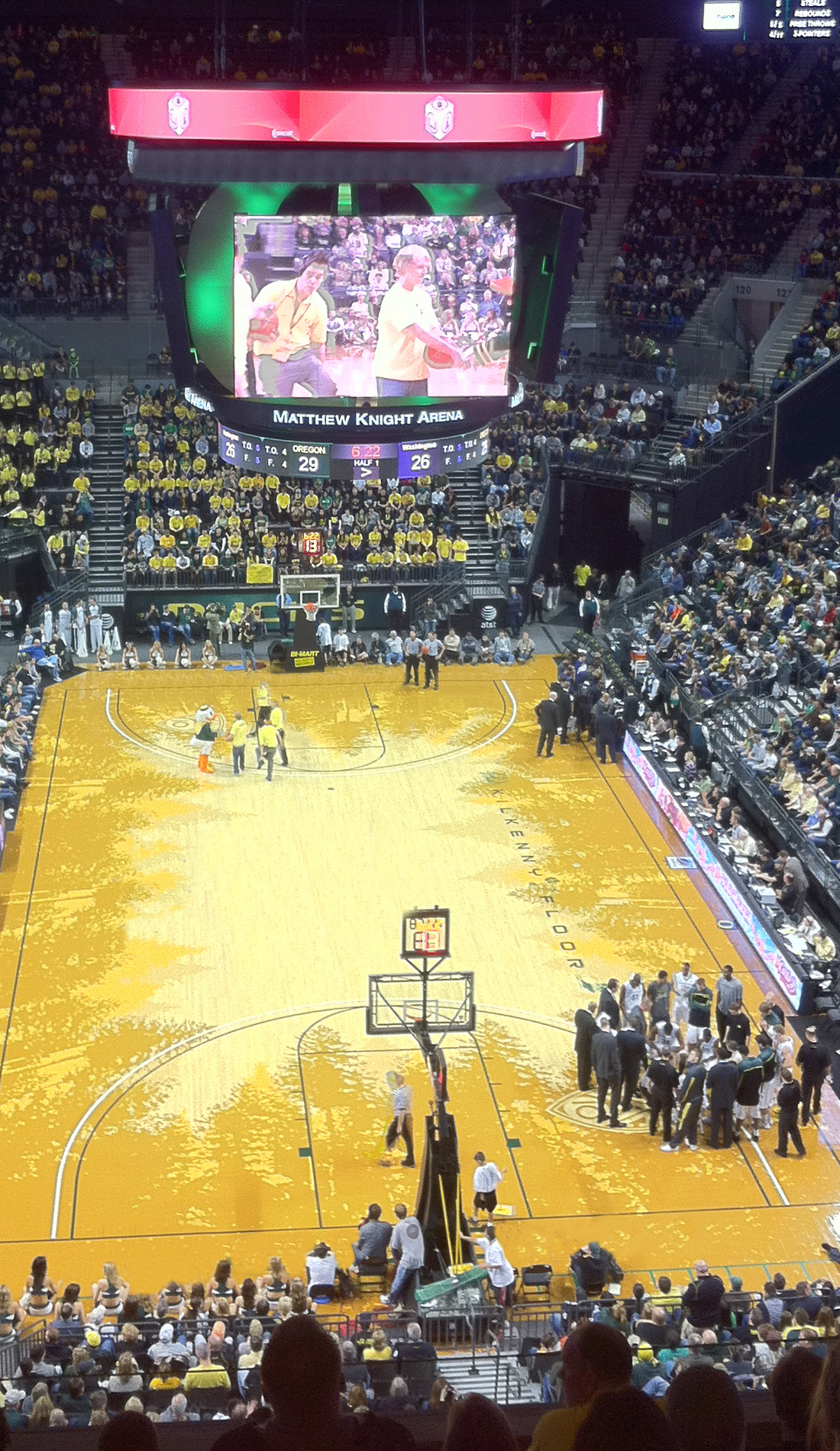 A Oregon Ducks Basketball live event