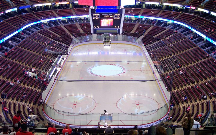 3d Map Of Air Canada Centre.Canadian Tire Centre Seating Chart Map Seatgeek