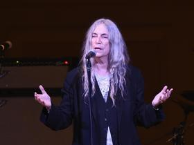 Best place to buy concert tickets Patti Smith