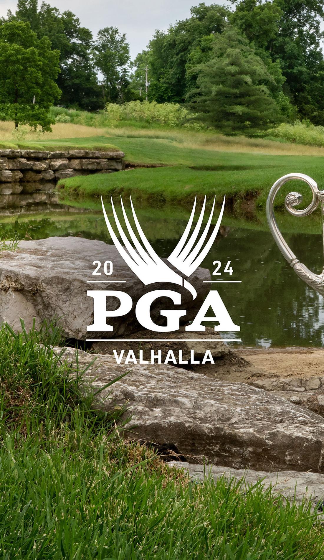 A PGA Championship live event