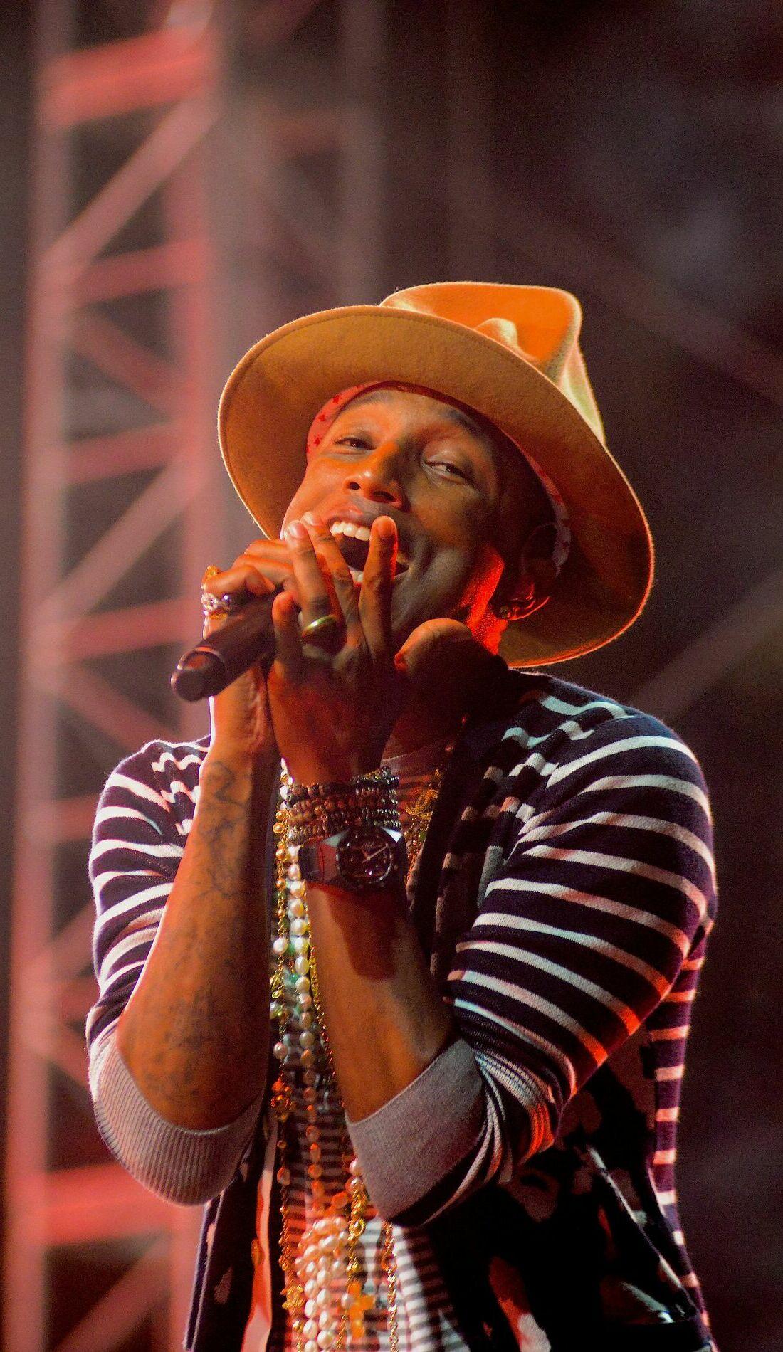 A Pharrell live event