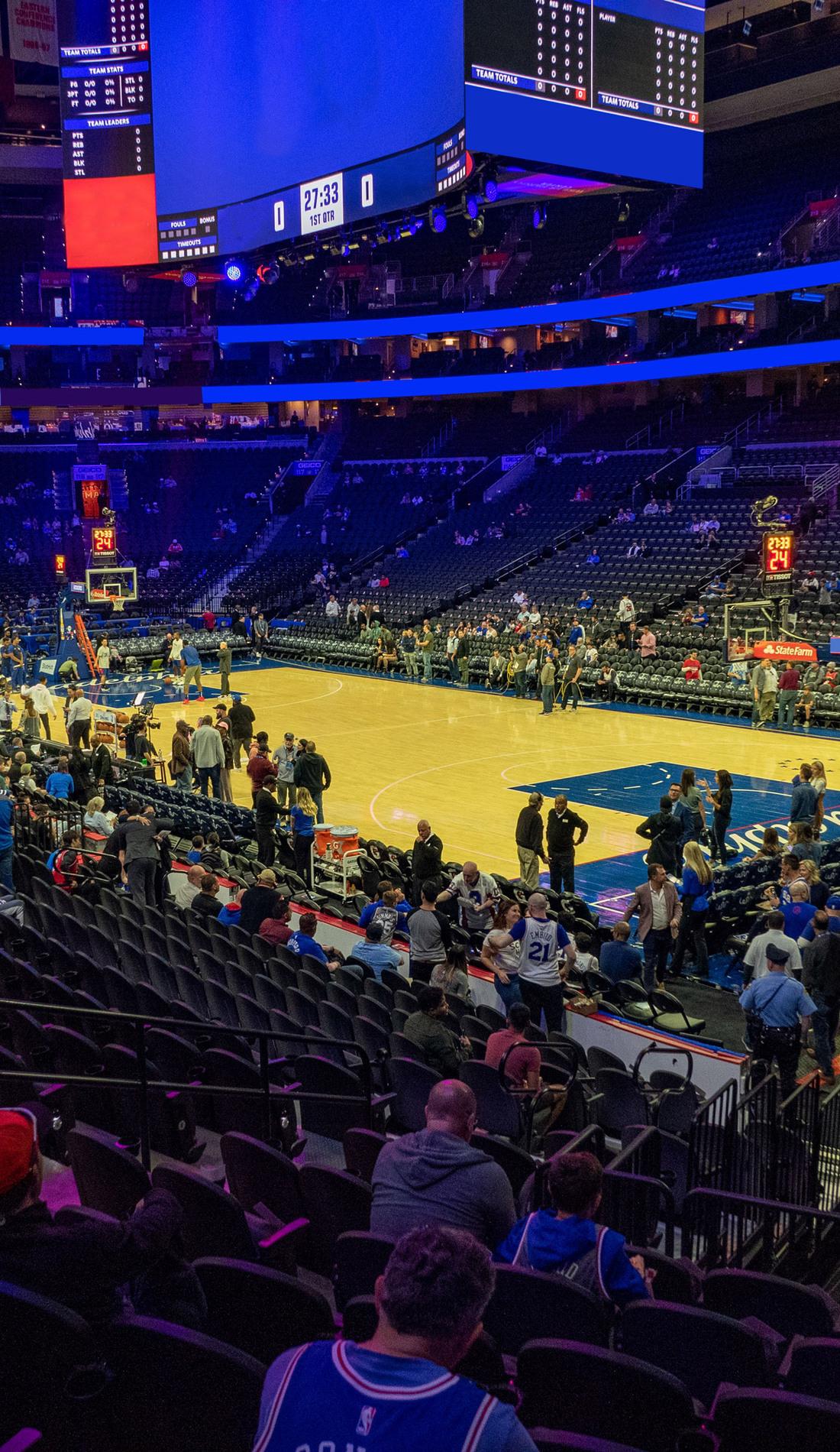 A Philadelphia 76ers live event