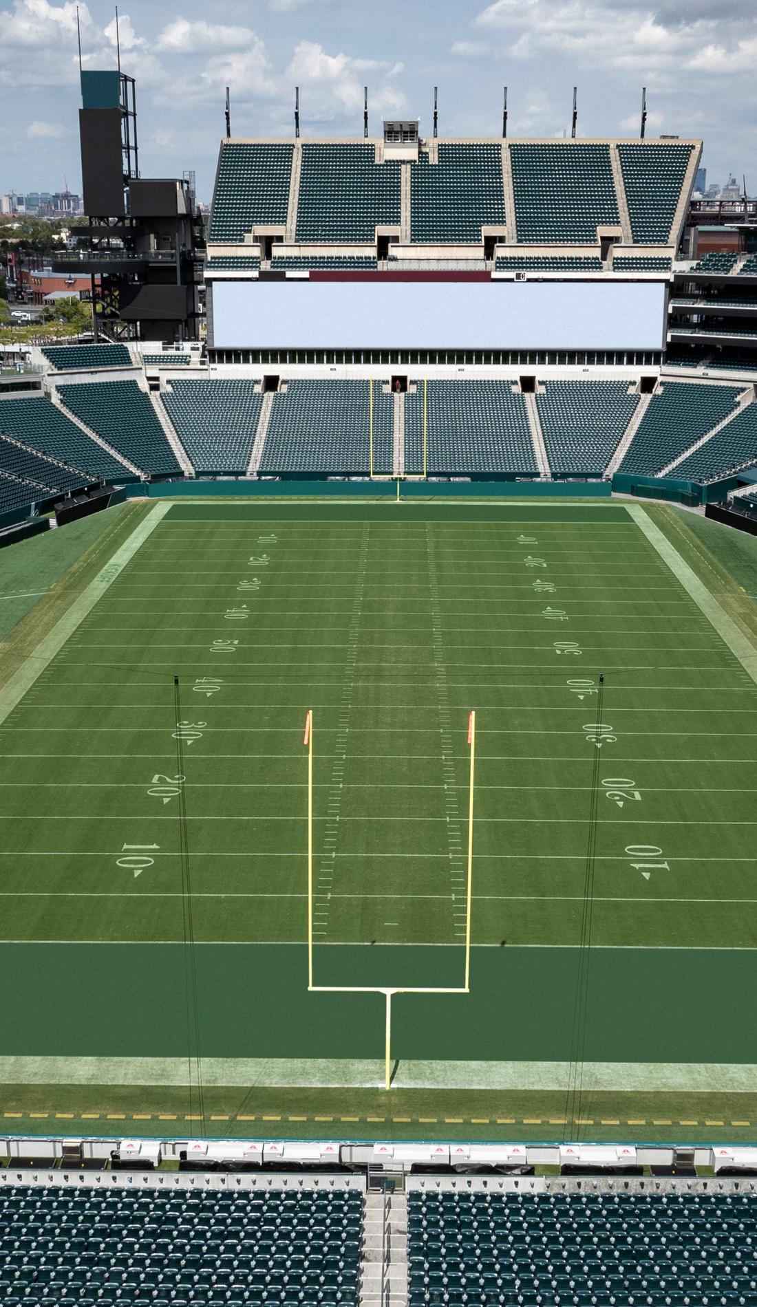 A Philadelphia Eagles live event