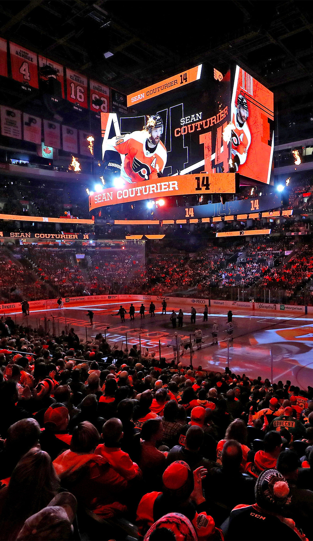 A Philadelphia Flyers live event