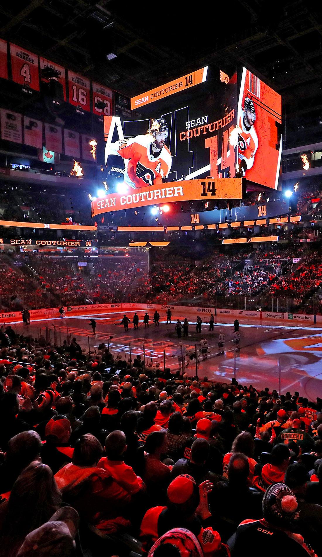 A Philadelphia Flyers live event